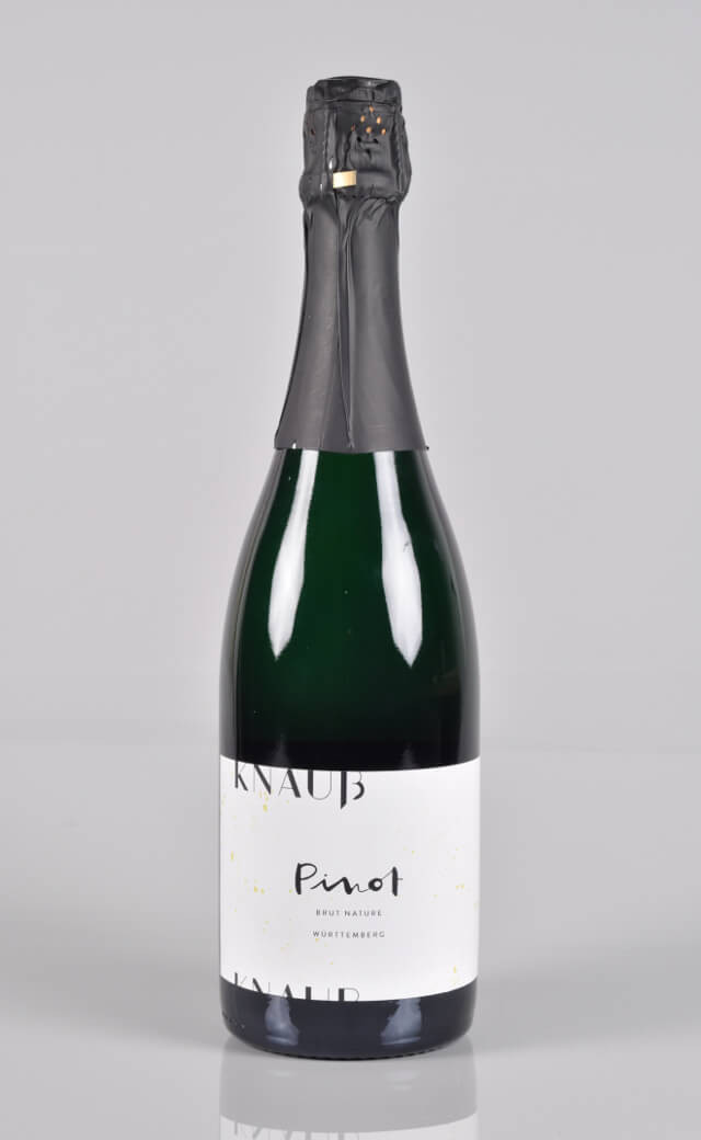 2014 Pinot Sekt Blanc de Noir brut nature